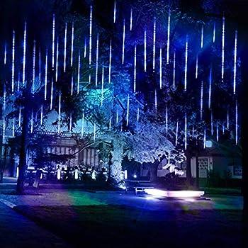 Amazon Com Weanas Shower Rain Lights Outdoor Christmas
