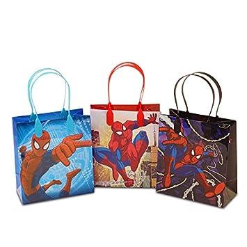 Amazon.com: Spiderman de colores bolsas de regalo de ...