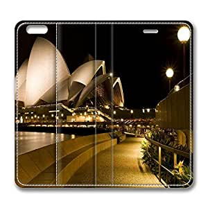 iPhone 6 Case, iPhone 6 Leather Case, Fashion Protective PU Leather Slim Flip Case [Stand Feature] Cover for New Apple iPhone 6(4.7 inch) - Sydney Opera