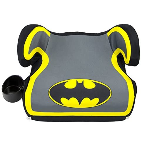 WB KidsEmbrace Belt Positioning Backless Booster Car Seat, Batman