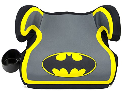 WB KidsEmbrace Belt Positioning Backless Booster Car Seat, Batman