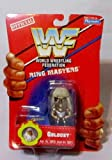 Official WWF 1991 by Playmates GOLDUST Ring Masters miniature action figure RARE