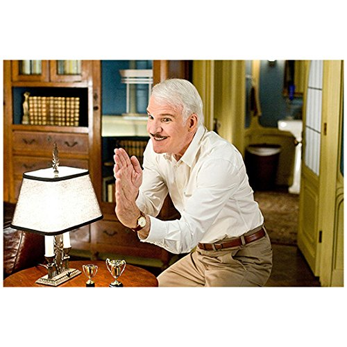 Steve Martin 8 inch x10 inch Photo The Pink Panther 2 (2009) in Martial Arts Pose kn