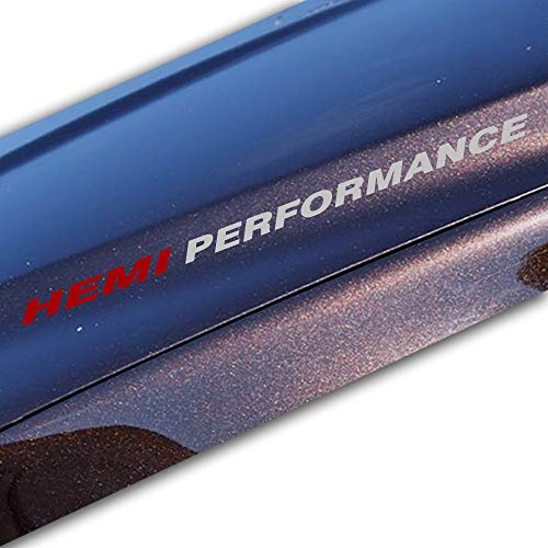 - Bubbles Designs 2X HEMI Silver Performance Decal Sticker Compatible with Chevrolet, Jeep, Ford, Dodge,Toyota or Similar