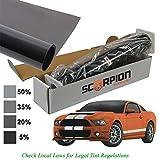 Scorpion Automotive Sun Protection Window Tinting Kits