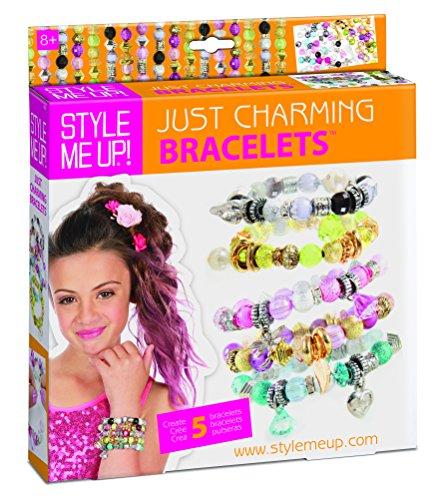 Aquastone Group Style Charm Bracelet
