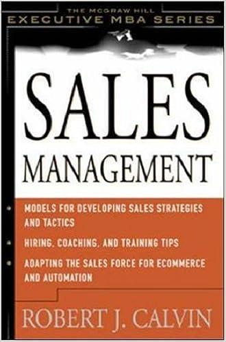 Sales Management Book