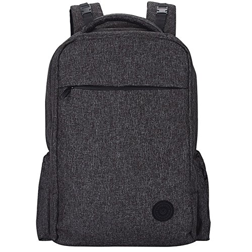 Lekebaby Large Diaper Backpack Black