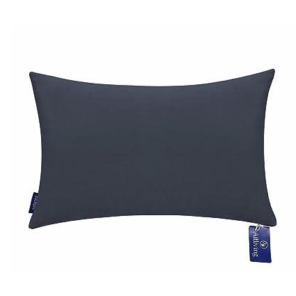 Amazon Aitliving Throw Pillow Covers 40x40 Inches Cotton Velvet Extraordinary Dark Blue Decorative Pillows