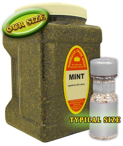 Family Size Marshalls Creek Spices Mint, 8 Ounces by Marshall's Creek Spices