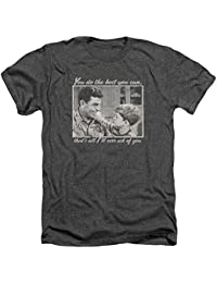 Mens Wise Words Heather T-Shirt