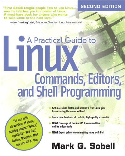 (A Practical Guide to Linux Commands, Editors, and Shell Programming (2nd Edition) )