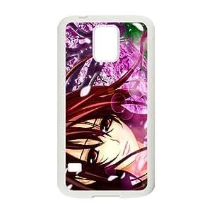 Samsung Galaxy S5 Cell Phone Case White Vampire Knight WQ7493962