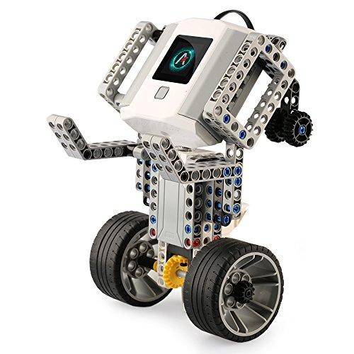 Abilix Building Block Robot for Kids Starter to Learn Robotics, Coding and Electronics (4 Sensors,248pcs/set)