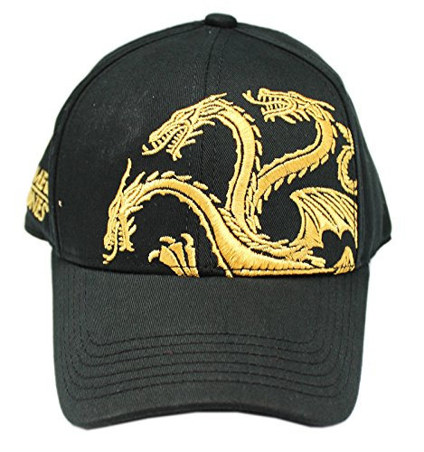 - Game of Thrones House Targaryen Dragon Insignia Non Adjustable Cap