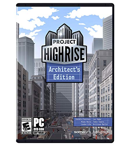 Project Highrise: Architect's Edition - PC (Building Games For Pc)