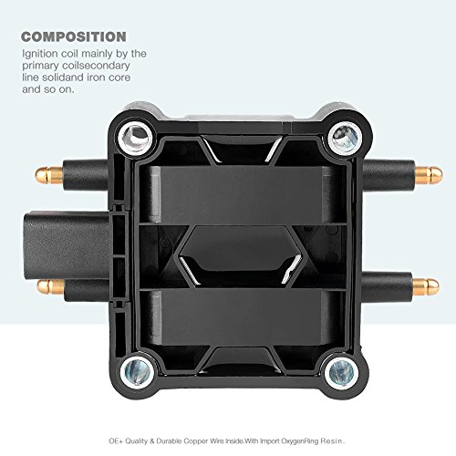 For Chrysler Dodge Jeep Mitsubishi L4 Set of 4 Direct Ignition Coil Boots Denso