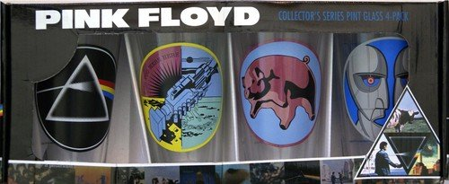 Pink Floyd Collector's Series Pint Glass Set (Set of 4 Pub Glasses) by Unknown (Image #2)