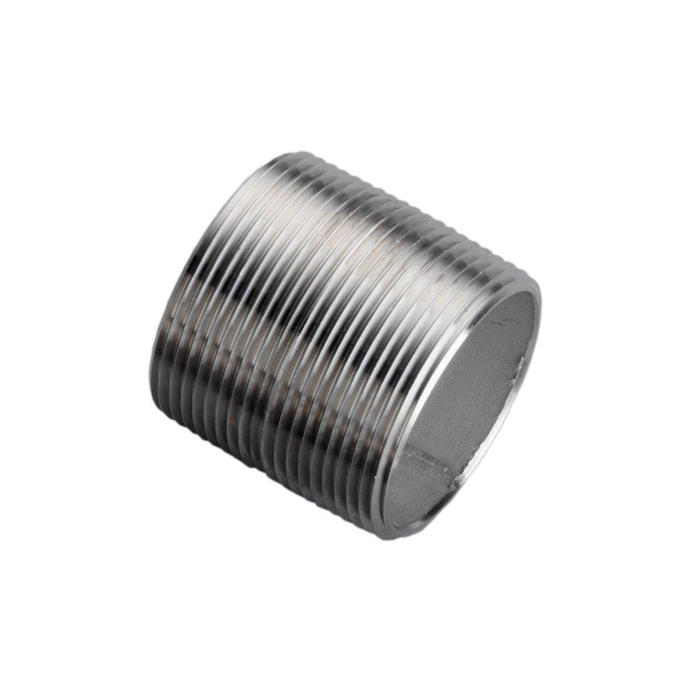 """1-1//2/"""" 304 Stainless Steel Nipple"""