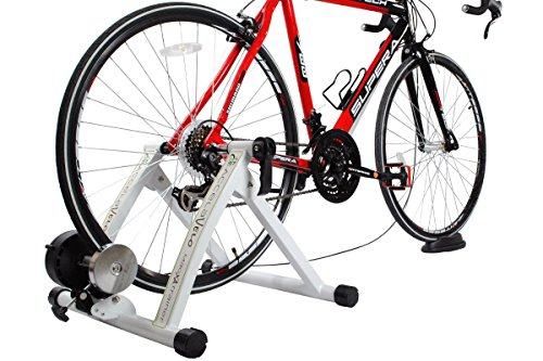AccelaVelo Mag-XA Indoor Adjustable Magnetic Bike Trainer - 6 Levels Of Resistance - Handlebar Remote Is Included - Complete 2 Year Warranty by AccelaVelo (Image #1)
