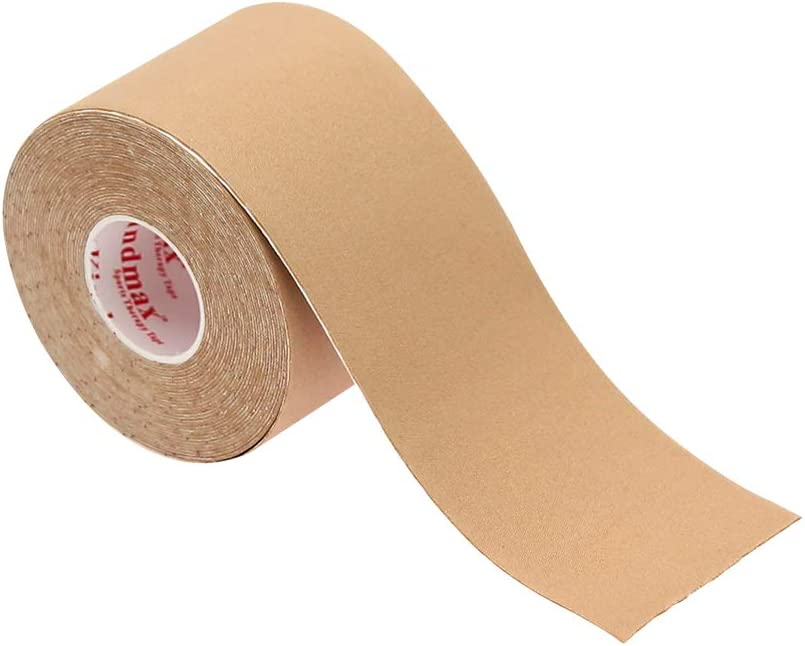 Complexion Kindmax High-Elastic Nylon Kinesiology Recovery Tape for Muscle Support Protector,Four-Sides Stretch,2 in x 16.5 feet 1 roll