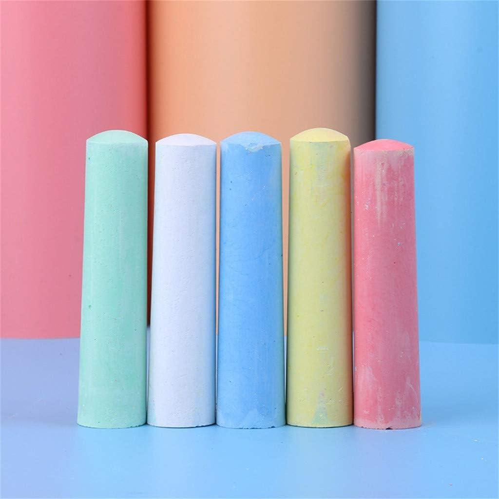5 Colors charts/_DRESS 15pcs//20pcs Jumbo Sidewalk Chalk,Non-Toxic Sidewalk Chalk