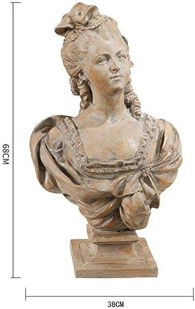 RYOG Estatuas para jardín 68 cm Europeo Creativo Retro Diosa Escultura de Arte estatuilla Resina artesanías Decoraciones de Escritorio para el hogar: Amazon.es: Hogar