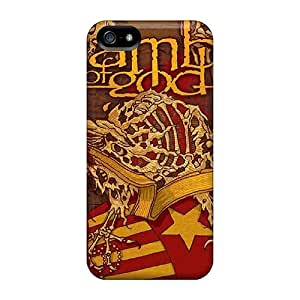 Awesome Lamb Of God Flip Cases With Fashion Design For Iphone 5/5s