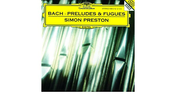 J.S. Bach: Prelude And Fugue In D Minor, BWV 554 (App. B) de Simon Preston en Amazon Music - Amazon.es