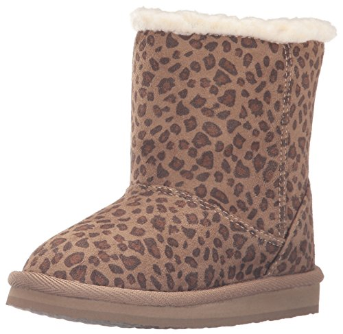 Roxy TW Molly Boots Slip-On (Toddler), Cheetah Print, 10 M US Toddler