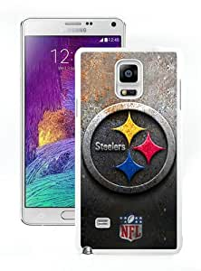 Hot Sale Samsung Galaxy Note 4 Screen Case ,Pittsburgh Steelers 30 White Samsung Note 4 Cover Unique And Popular Designed Phone Case