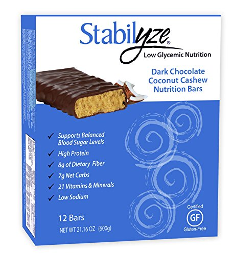 Stabilyze Nutrition Bar - Dark Chocolate Coconut Cashew