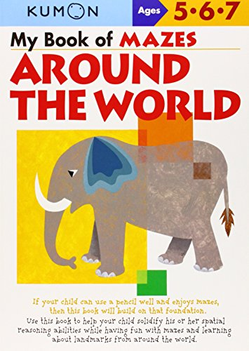 My Book of Mazes: Around the World