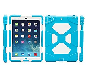 Ipad Air 2 Case , Aceguarder Apple Ipad Air 2 Case Shock Proof Kids Proof Cover Case with Stand by Aceguarder