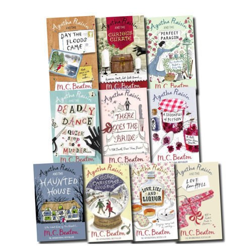 Agatha Raisin Series (11 to 20) M.C. Beaton Collection 10 Books Bundle (Kissing Christmas Goodbye, a Spoonful of Poison, Love, Lies and Liquor, the Perfect Paragon... ebook