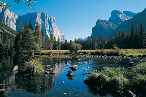 Yosemite Valley Yosemite National Park California Photo Art Print Mural Giant Poster 54x36 inch