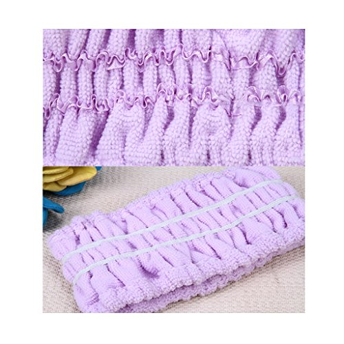 simple edge wild headband Color Hairband 2 bag purple scarf headdress wide hair wash blue the sweet hoop with Europe band 2 States pink and hair United qPAqzw