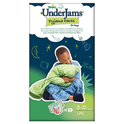 Pampers Underjams Boy Size 8 L-XL 27kg+ (9)