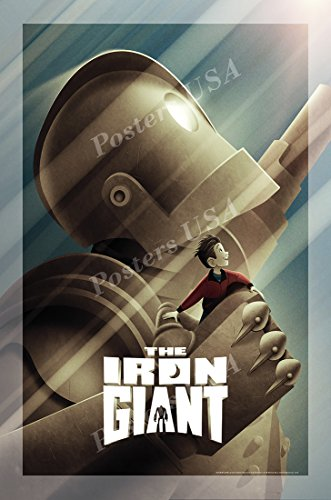Posters USA - Iron Giant Movie Poster GLOSSY FINISH) - MOV292 (24