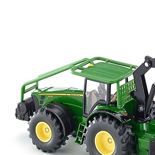 1:50 Siku John Deere Forestry Tractor