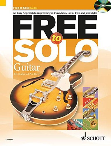 Free to Solo for Guitar Book/Cd