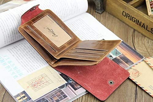 Amazon.com : Mini Leather Card Holder for Men : Office Products