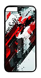 Abstract Shapes 02 PC Case Cover for iphone 6 4.7inch - Black