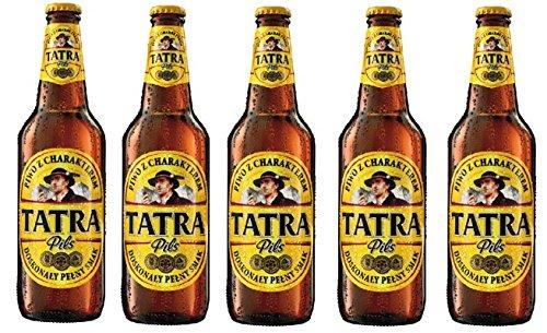 Polnisches Bier Tatra Porter 05 L Flasche 60 Alk 5 Flaschen Im