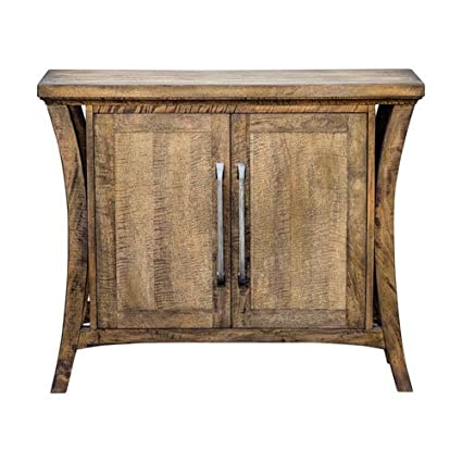 Uttermost 25851 Cary Distressed Antique Honey Mango Wood Console Cabinet - Amazon.com: Uttermost 25851 Cary Distressed Antique Honey Mango Wood