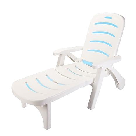 Be&xn Silla de Playa, Silla Plegable Patio Chaise Lounge ...