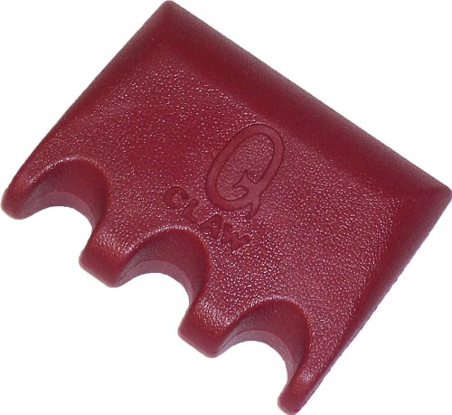 Q Claw 3 Pool Cue Holder Color: Wine