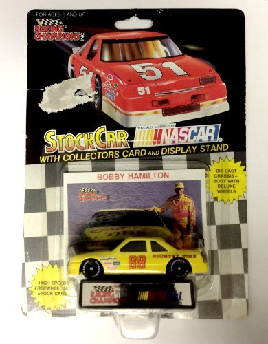NASCAR #68 Bobby Hamilton Country Time Racing Team Stock Car With Drivers Collectors Card And