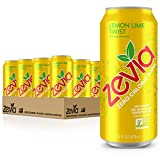 Zevia Zero Calorie Soda, Lemon Lime Twist, 16 Ounce