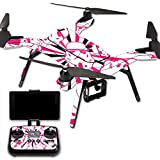MightySkins Protective Vinyl Skin Decal for 3DR Solo Drone Quadcopter wrap cover sticker skins Pink Trooper Storm